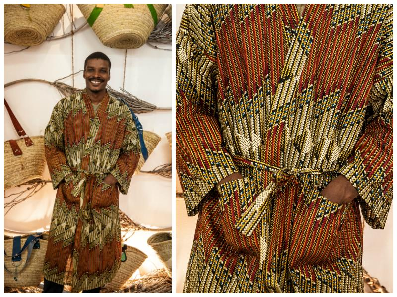 Beautiful Kaftan made from local Kanga (worn by generations of Swahili women in East Africa).   Extremely comfortable they are great for lounging or for th...